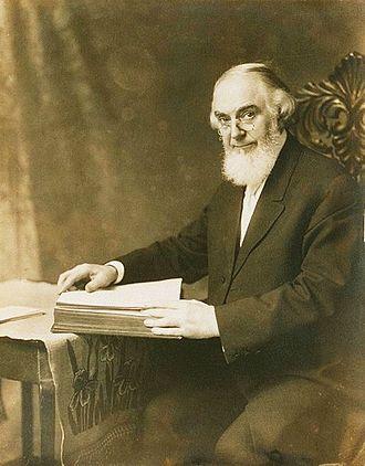 Charles Taze Russell en 1911. Foto de WikiCommons.