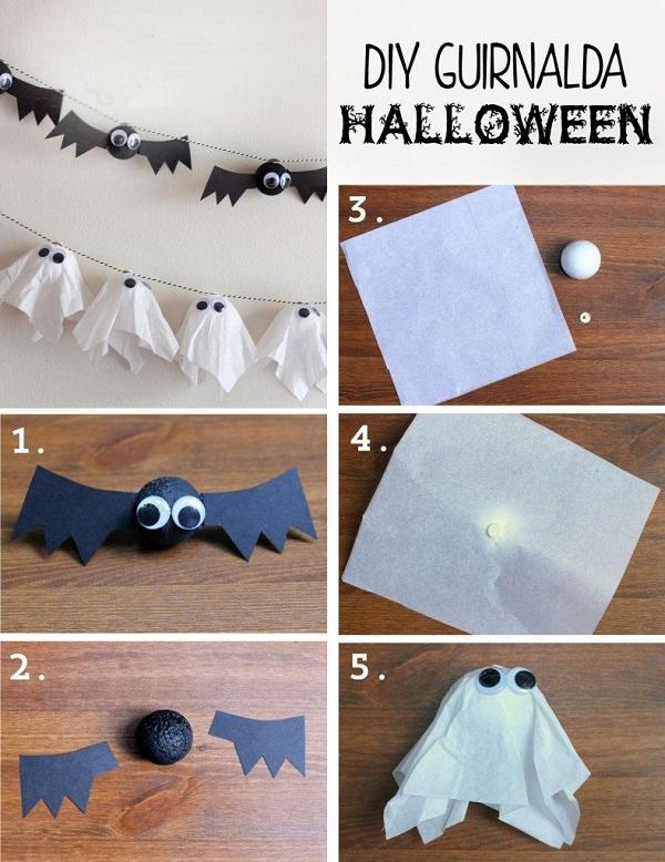 Decora tu casa para halloween de una forma creativa y - Decoracion halloween casera ...