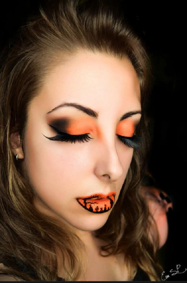 llega el Halloween lip art: los labios más terroríficos que hayas